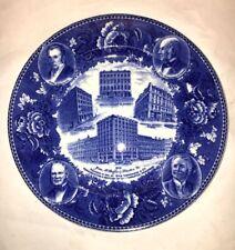 Wedgwood Jones McDuffee & Stratton Boston 100th Year Plate