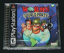 Worms World Party (Sony PlayStation 1, 2002) - Brand New & Factory Sealed - Mint