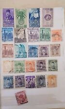 A nice collection of 25 used EGYPT stamps of earlier time