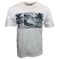 Mens Tee T Shirt S M L XL XXL Surf Bahama Beach Hawaiian Surfboard Graphic NEW