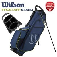 Wilson ProStaff 4-WAY Golf Carry Stand Bag Blue/Red 4.1lbs - NEW! 2020