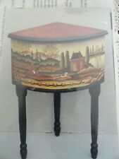 Heritage Painting Betty Caithness Hunt Scene Table 1997