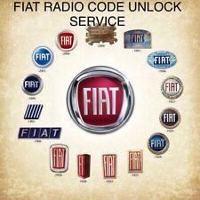 Fiat Radio Code Unlock