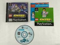 Jeu Playstation 1 PS1 VF   Lego Racers  avec notice   Envoi rapide et suivi