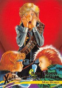 BABIES ROGUE, LONGSHOT & DAZZLER / X-Men Fleer Ultra Wolverine BASE Card #62