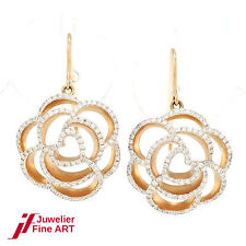 Al Coro Ohrhänger 18K Rotgold - Diamantbesatz - NEU  UVP= 4.400,-€