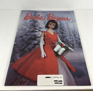 Barbie Bazaar Magazine Back Issue December 1988 American Girl Barbie Rare 80s