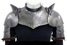 Medieval Iron Gorget Set Medieval Knight Crusader Roman Spartan Hallowen costume