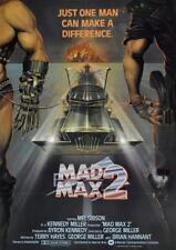 "Poster Mad Max 2 (1981) Interceptor ""Vintage"" Locandina - Formato (42x30 cm)"