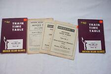 1970 1971 Northern Ireland Railways Train Railway Timetable x2 Ireland Irish