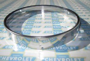 1955-1957 Chevrolet & GMC Truck Headlight Bulb  Retainer Ring. Stainless Steel