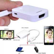 High Quanlity HDTV adapter Cables Micro USB MHL 2.0 To HDMI HDTV For Cell Phone