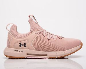 Under Armour HOVR Rise 2 Women's Pink Gym Cross Training Athletic Shoes Sneakers