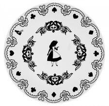 Leblon Delienne Disney Alice Meraviglie Porcellana - 4 Piatti Dessert diam 21cm