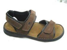 NEW Josef Seibel dark brown suede sport sandals Mens shoes sz 47 14D