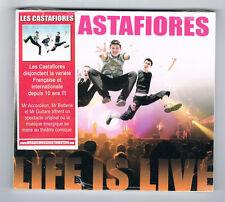 LES CASTAFIORES - LIFE IS LIVE - 14 TRACKS - 2010 - NEUF NEW NEU