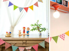 Paper Flags Banner Bunting Baby Shower Wedding Birthday Party Decor HO010