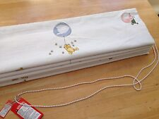 Roman Blind Jane Churchill Winnie the Pooh Interlined MechanisedCorded Track MTM