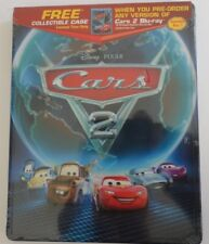 Disney Pixar Cars 2 Blu-ray Best Buy Exclusive Collectible Metal Case steelbook