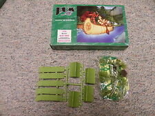 BUM  1/72  Box# 0111 Wild West Limited Edition 36 pieces figs, camp, canoe etc
