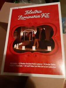 Electric Luminaria decorations Kit-Please read description