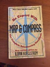 MAP & COMPASS, THE COMPLETE ORIENTEERING HANDBOOK by Bjorn Hjellstrom