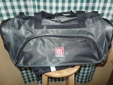 NEW LUKOIL Adventure Duffle Bag Weather Resistant LARGE 21x12x10  Canvas w/strap