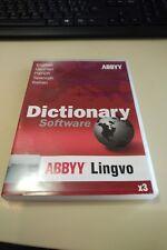 ABBYY DICTIONARY SOFTWARE LINGVO X3 nuovo.