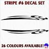 30cm STRIPE #6 striping decal sticker set! Car,ute,caravan,boat marine graphics!