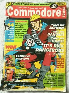 71982 Issue 02 Commodore Format Magazine 1990