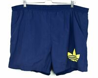 Adidas Vintage 90's Swim Trunks Mens XL Nylon Shorts W40 Retro Swimwear Sprinter