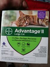 Bayer Advantage II For Large Cats over 9Lbs 4 monthly doses