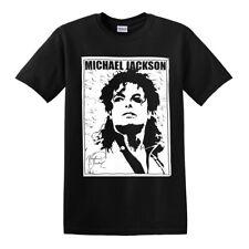 MICHAEL JACKSON T-SHIRT/SIGNATURE/King Of Pop/Legend/Icon/Music/T shirt/Top/Tee