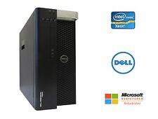 Dell Precision T5600 Xeon 16 Core 2.6GHz 64GB RAM SSD HD NVIDIA Win 10 Pro