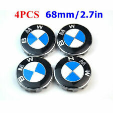4PCS 68mm Wheel Center Hub Caps Logo Badge Emble for BMW 1-3-5-7 Series X1X3X5X6