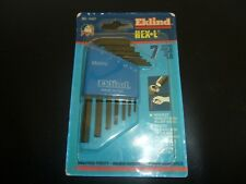 Eklind 7pc metric short arm hex keys, made in U.S.A.