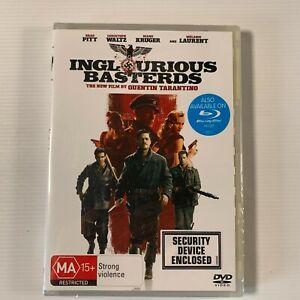 Inglourious Basterds (DVD 2009) Brad Pitt Christolf Waltz Region 4 new sealed