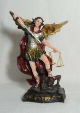 "8"" San Miguel Arcangel Archangel Michael Angel Statue Statua-figurine"