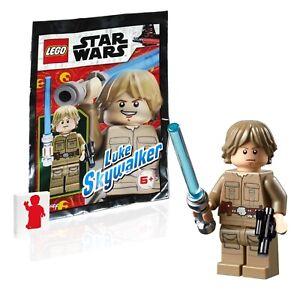 LEGO Star Wars Minifigure - Luke Skywalker Cloud City (w Lightsaber & Blaster)