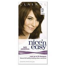 CLAIROL Nice'n Easy Semi-Permanent Hair Dye No Ammonia 75 Light Ash Brown