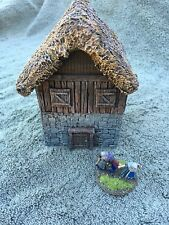 28 mm Painted Fortified Medieval 2 Story House