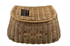 Vintage Wicker Fishing Creel, Dutch.