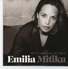 (EB756) Emilia Mitiku, You're Breaking My Heart - 2013 DJ CD