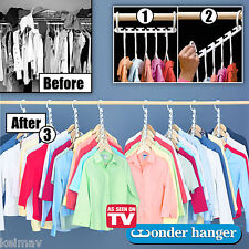 8-Pack  Wonder Hanger As Seen on TV