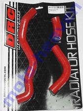 SUZUKI 2000-2013 DRZ400S DRC RED Silicone Radiator Hose Set Hoses DRZ400 S DRZ