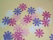 60 Streuteile Stanzteile Blumen Blüten Blume Blüte 4 Mädchen Farben  Streu Deko