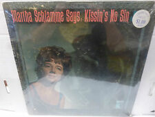 SEALED 33RPM Vinyl Record Martha Schlamme Says Kissin's No Sin MGM E-4190