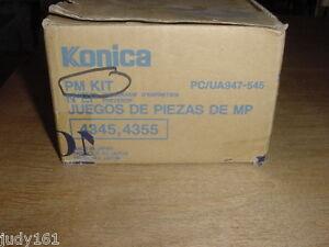 Genuine Original Konica 4345 4355 PM Kit PC/UA947-545 947-545 NIB