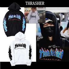 NEW Fashion Men's hoodie sweater Hip-hop skateboard Thrasher Women Sweatshirts
