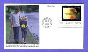 2002 #3556 34c Mentoring a Child Mystic cachet FDC